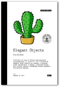 """Elegant Objects"" cover"