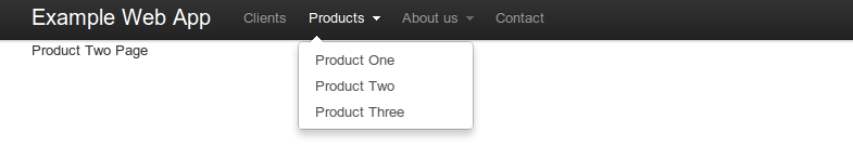 Picture 35 of Top Navigation Bar Bootstrap ...